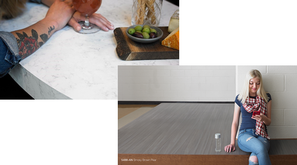 Formica Infinity Applications